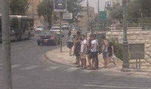 Bewaffnete israelische Zivilisten, Photo: Ana C.