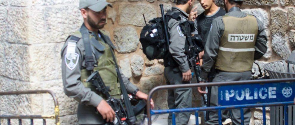 Police Junge Altstadt Jerusalem, Ana C.